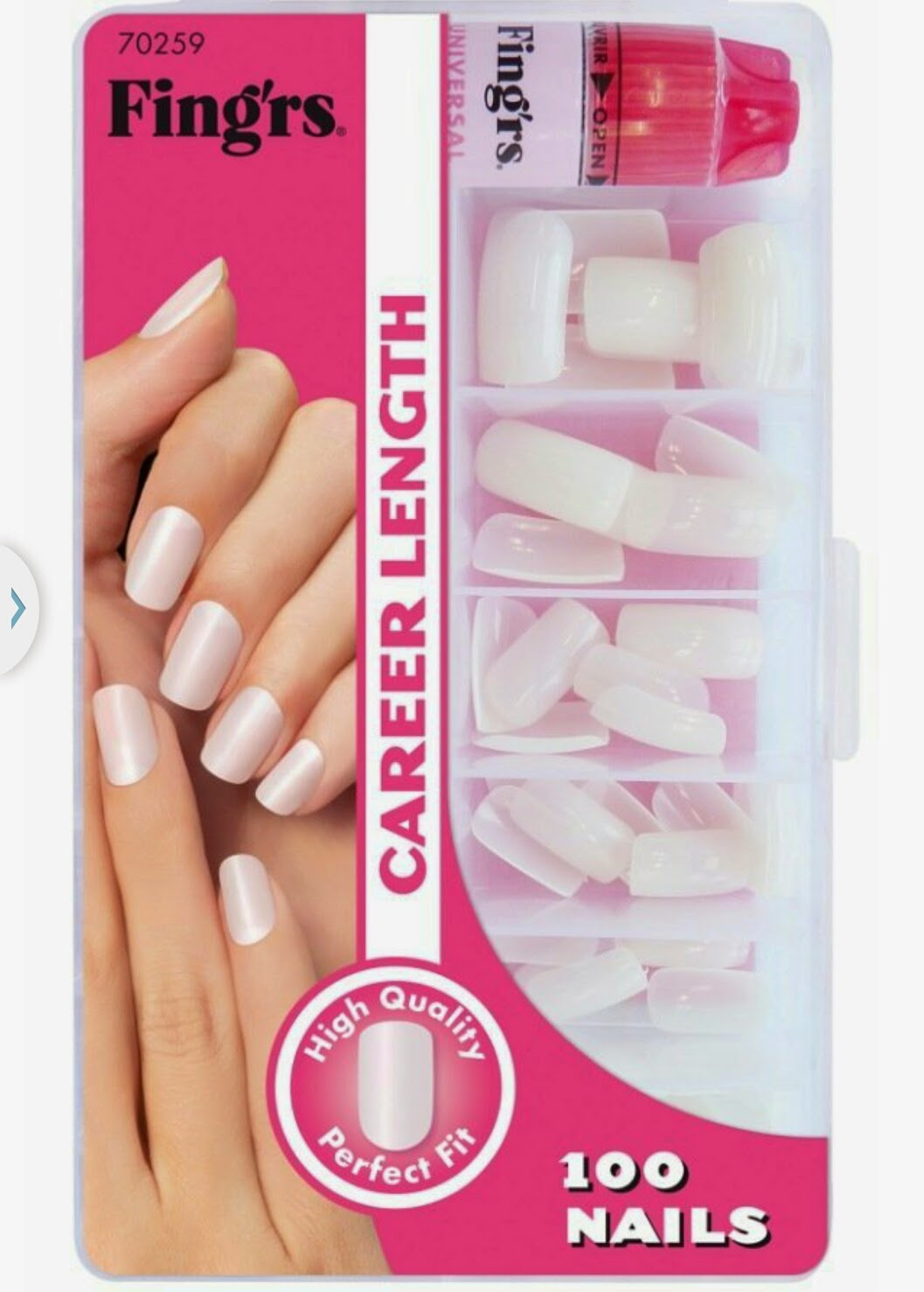 Kit Ongles Carrefour